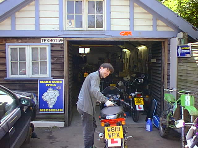 Motorcycle Service Garages : Tekmotive garage motorcycle tyre services auto